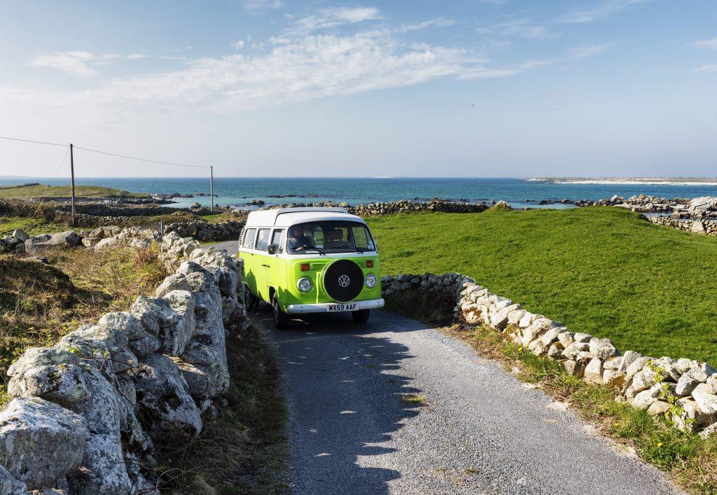 Wohnmobilreisen in ganz Irland ab dem 20. Juli erlaubt. Buche jetzt sofort für die Zeit vom 20. Juli bis zum 25. Oktober - West Coast Campervans